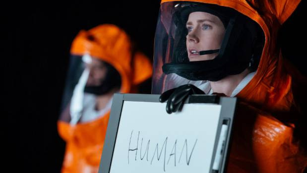 Amy Adams plays a linguist communicating with aliens in Arrival. It shows how sophisticated time travel stories have become.