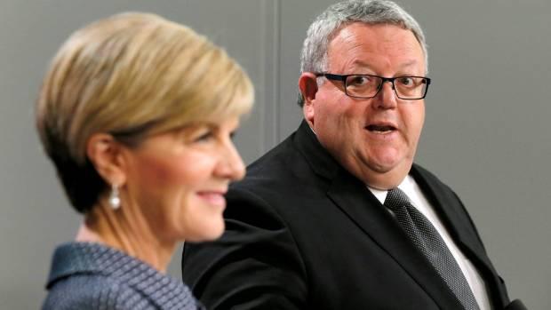 Gerry Brownlee met with Julie Bishop in Sydney.