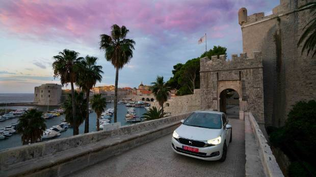 Dubrovnik ended up being our favourite city, and also the place where I scratched the car in a narrow street!