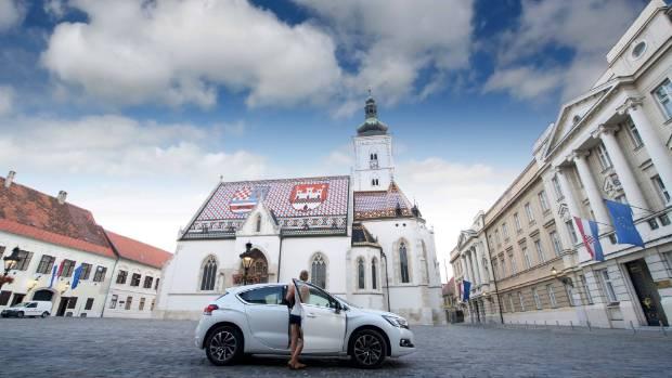 St. Mark's Church in Zagreb, Croatia.