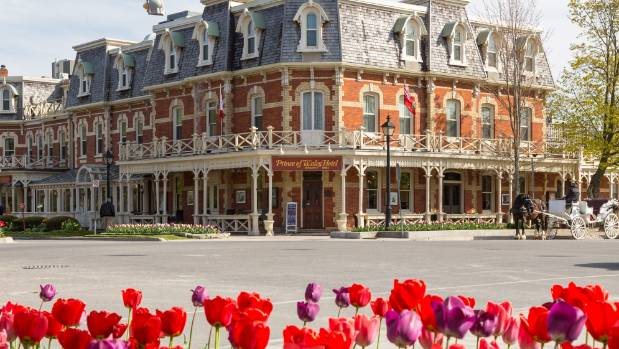The postcard pretty town of Niagara-on-the-Lake is a short drive from Niagara Falls, and a perfect spot for lunch or to ...