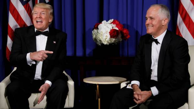 Donald Trump lampooned for Australian healthcare praise