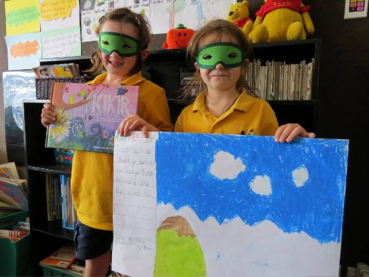 Deanna Anderson (nee Coleman) visited Mt Pleasant Primary School last week and the pupils shared their interpretations ...