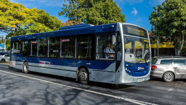 The driver of a Metrolink bus was filmed telling a passenger to 'f... off' during the Monday morning rush hour (file photo).