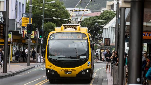 A proposed rapid bus route through central Wellington is being reviewed, causing concern among some local councillors.