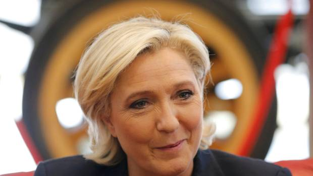 Far-right leader Marine Le Pen has won a seat in France's National Assembly (file pic).