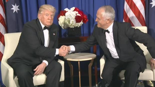"""We get along great,"" Donald Trump has said of his relationship with Malcolm Turnbull. Time will tell what the ..."