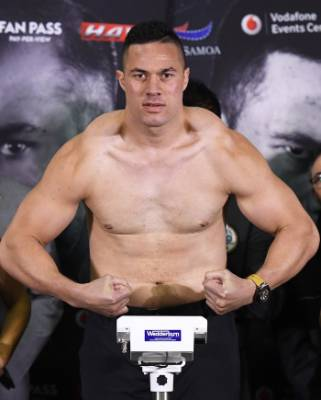 Joseph Parker gave up 13kg to his opponent.