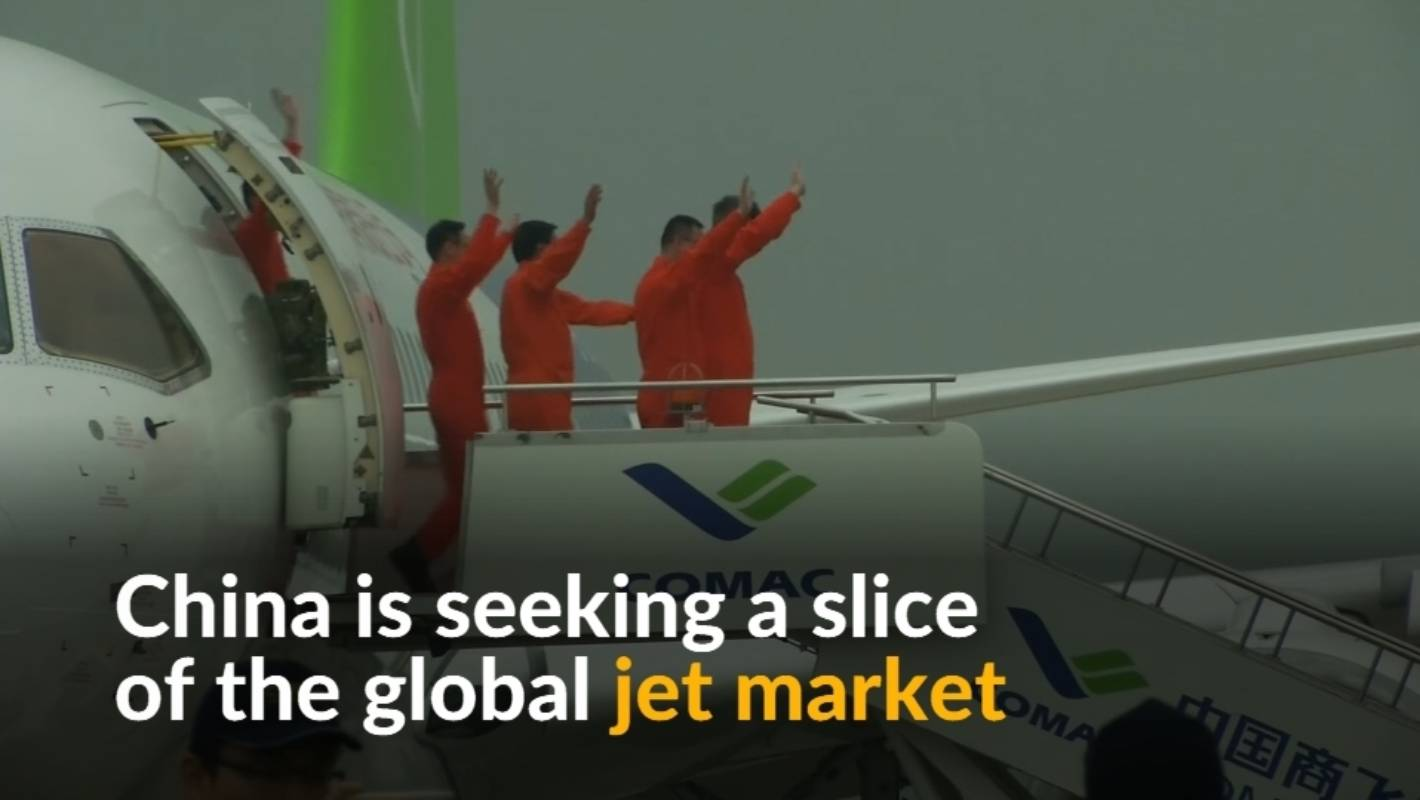 How China built a rival to Boeing: First Chinese-made passenger jet