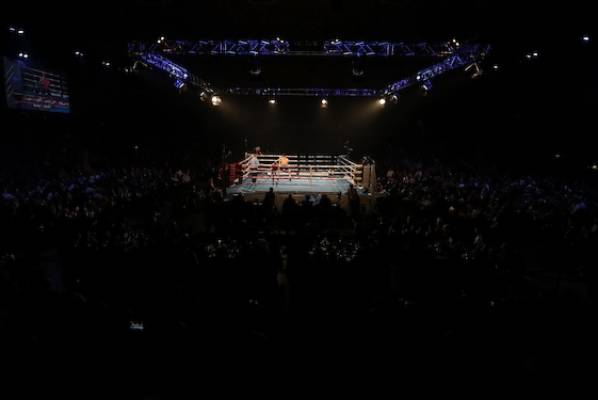 The atmosphere at the Manukau Events Centre.