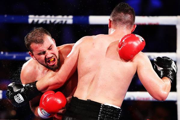Razvan Cojanu proved a tougher opponent for Joseph Parker than most would've expected.