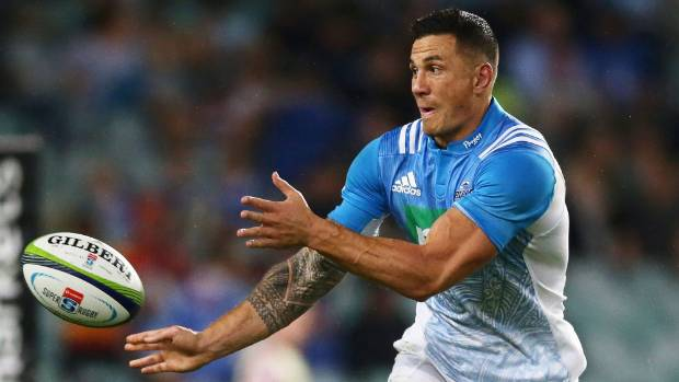 Blues midfielder Sonny Bill Williams returns to the starting XV after a spell on the sideline through concussion.