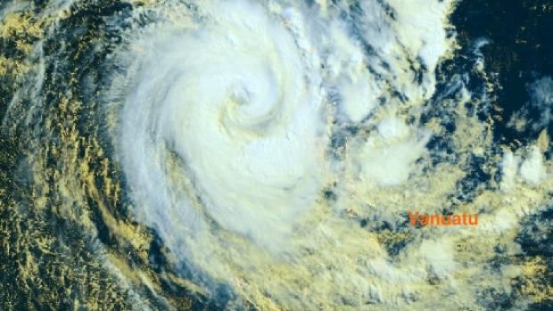 NASA sees Tropical Cyclone Donna blanket Vanuatu NASA/Goddard Space Flight Center