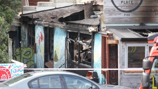The man was accused of burning this popular beachside cafe to the ground.