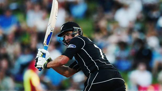 Colin de Grandhomme made a first-ball duck for Kolkata in the IPL preliminary final. (File photo)
