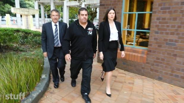 Cameron Slater at the Auckland High Court.