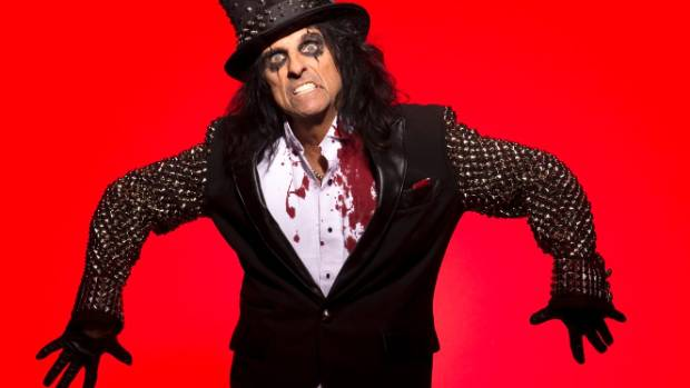 """Alice Cooper: """"I decided there were too many Peter Pans, and I wanted to be Captain Hook."""""""