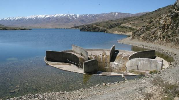 The irrigation water intake at Falls Dam in the Manuherikia Valley, which is pivotal in regional options for further ...