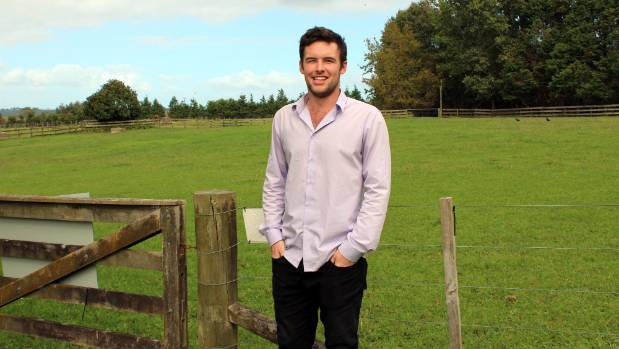 Lucas Bateup is hoping to find a landowner willing to lease 30 square metres for $5000 a year, so he can get into a ...