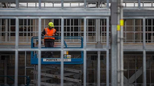 Construction costs are expected to peak in September at 7.4 per cent a year.