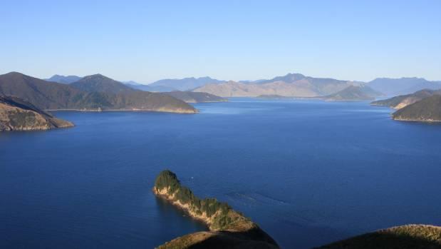 A view over Waitata Reach in Pelorus Sound where New Zealand King Salmon wants five new salmon farms.