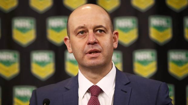 The game could be a trailblazer in erasing the stigma around mental issues, says NRL Todd Greenberg.
