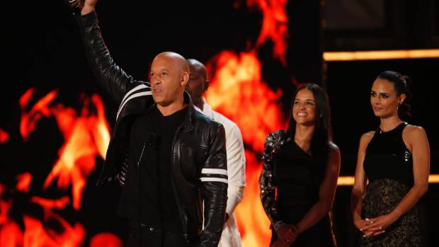 Film franchise Fast and Furious was awarded the MTV Generation Award.