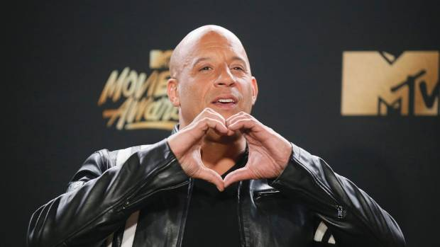"Vin Diesel accepted the ""Generation Award"" on behalf of eight movies worth of cast and crew."