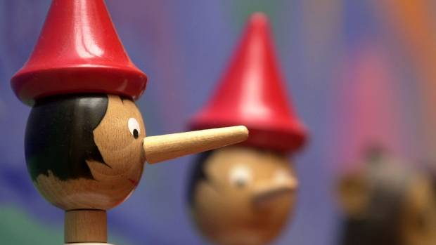 If the Pinocchio story were true, mums would look like this.