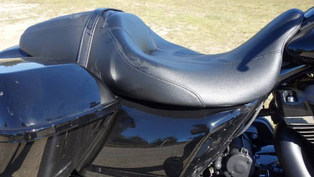 The seat of the Special still looks after riders but pillions will prefer the more sumptuous padding of the Road King.