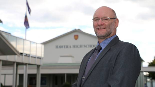 """Hawera High School principal Hans Konlechner: """"This would be the most serious incident of its type in the eight years ..."""