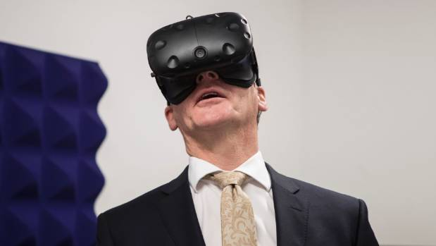 """PM Bill English says comedian John Oliver """"isn't very funny"""". Unlike this photo of PM Bill English."""