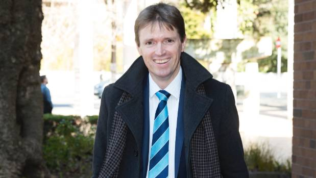Colin Craig at the Auckland High Court.