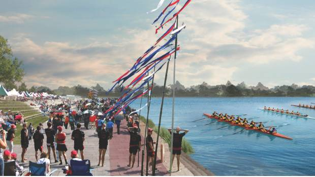 Rowing, waka ama, canoeing and other multisports are suggested uses for the area.