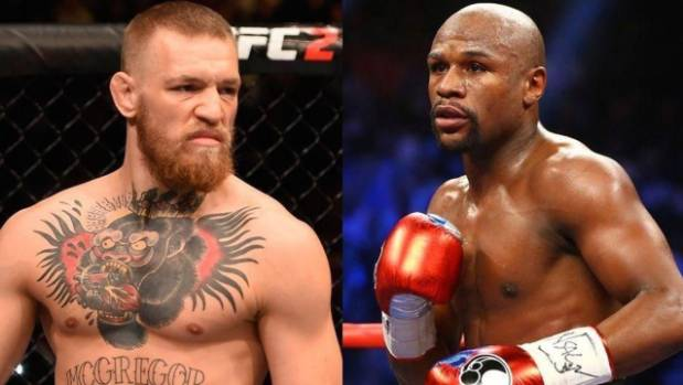 Conor McGregor vs Floyd Mayweather in a boxing mega-fight moved another step closer.
