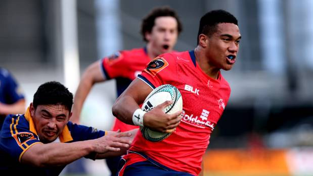 Tima Faingaanuku, shown here in Tasman Makos' colours, is heading to the world under-20 champs in Georgia.