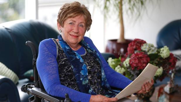 Alexia Pickering, disability access advocate.