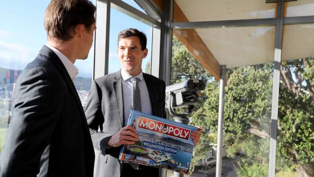 Lester speaks with Winning Moves managing director Reid Herbert about the Wellington edition of Monopoly.
