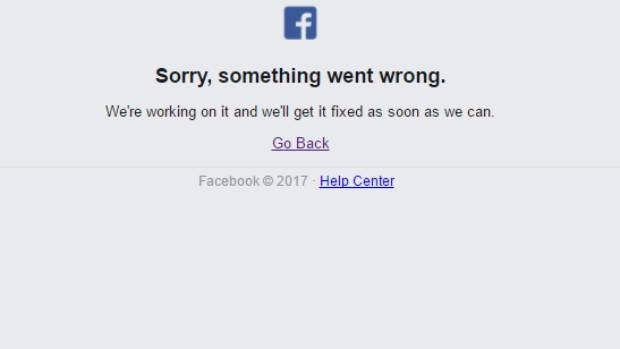 Facebook down: Worldwide website outage leaves users twiddling thumbs