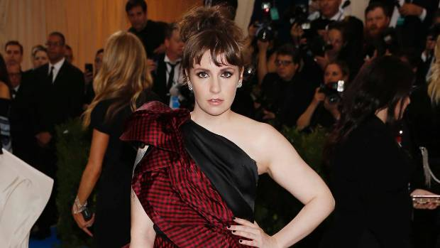 Lena Dunham Trolls 'Us Weekly' Diet Tips Column