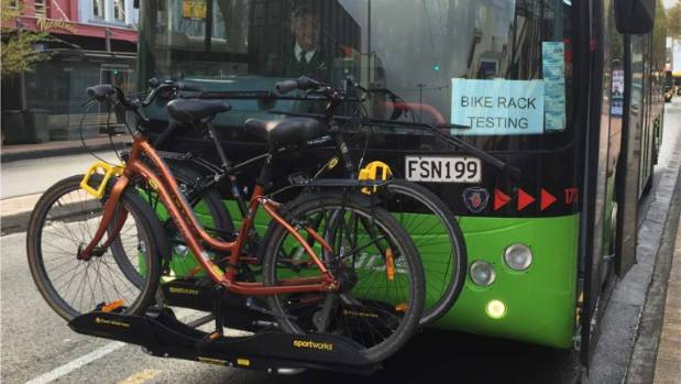 Bike racks may soon feature on all buses across the Wellington region's public transport network.