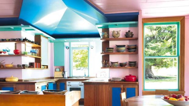 The kitchen was designed and made by Rhondda's long-time friend, Robert Hancock, who travelled from Auckland to revamp ...