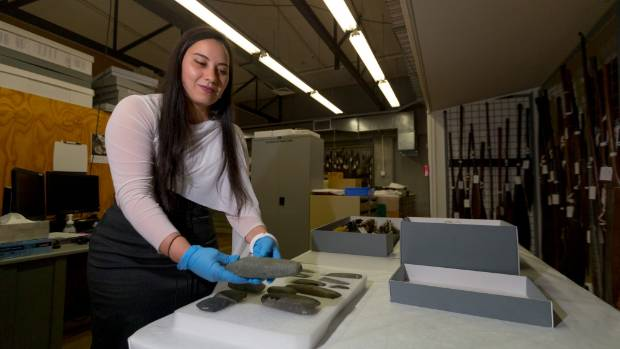 Part of Kararaina Te Ira's skill set is her expertise in the conservation of Maori taonga.
