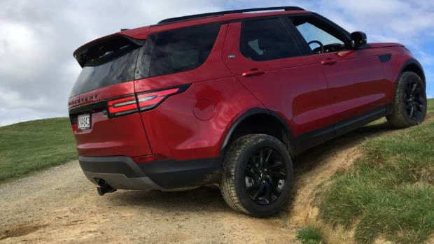 The new Discovery is very capable off the road.