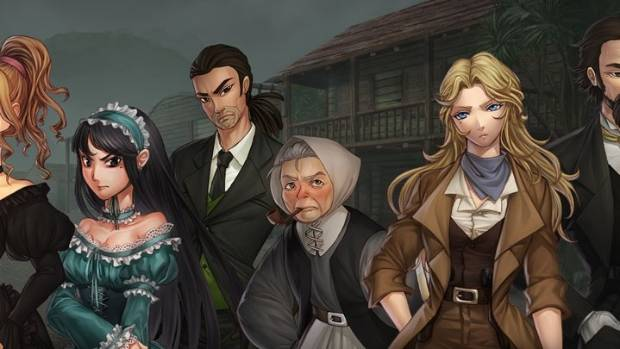 The Falconers: Moonlight is an exciting, well-written visual novel with some beautiful art.
