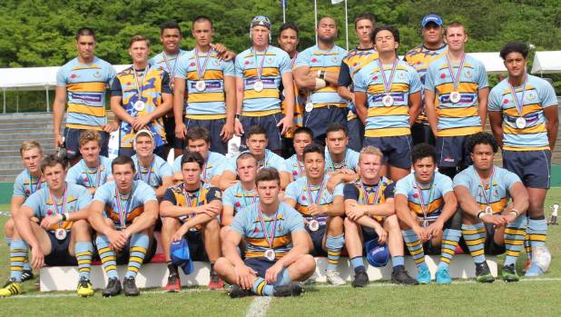 The Mount Albert Grammar School first XV finished second at the 2017 Sanix World Rugby Youth Tournament in Japan late ...