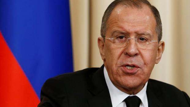 Lavrov acknowledges Comey fracas by quipping 'Was he fired?'