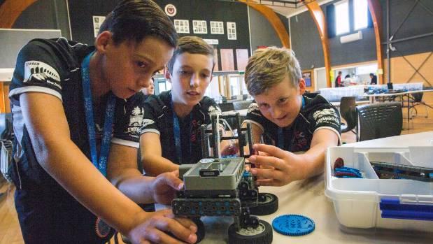 Feilding schools thrive at vex robotics in united states for High style motoring atv