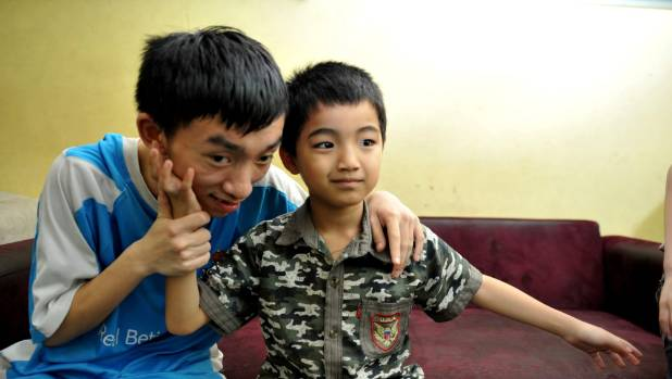 Blue Dragon also supports poor children with disabilities in its Step Ahead programme.