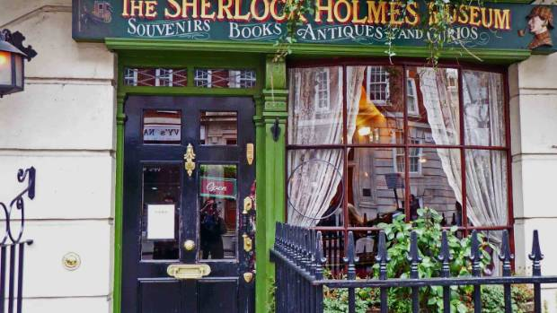 The Sherlock Holmes Museum in Marylebone is located at - where else? - 221-B Baker Street.